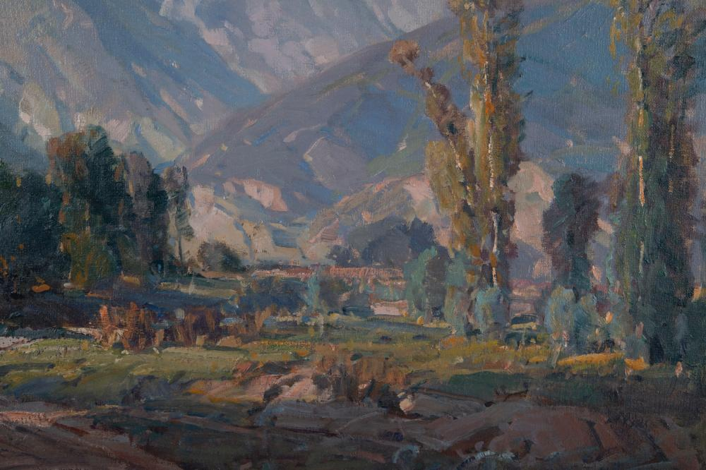 "HANSON DUVALL PUTHUFF (1875 - 1972): ""RECEDING MIST"""