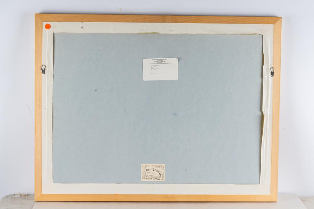 """EDWARD RUSCHA (B. 1937): """"000 (E. 44)"""""""