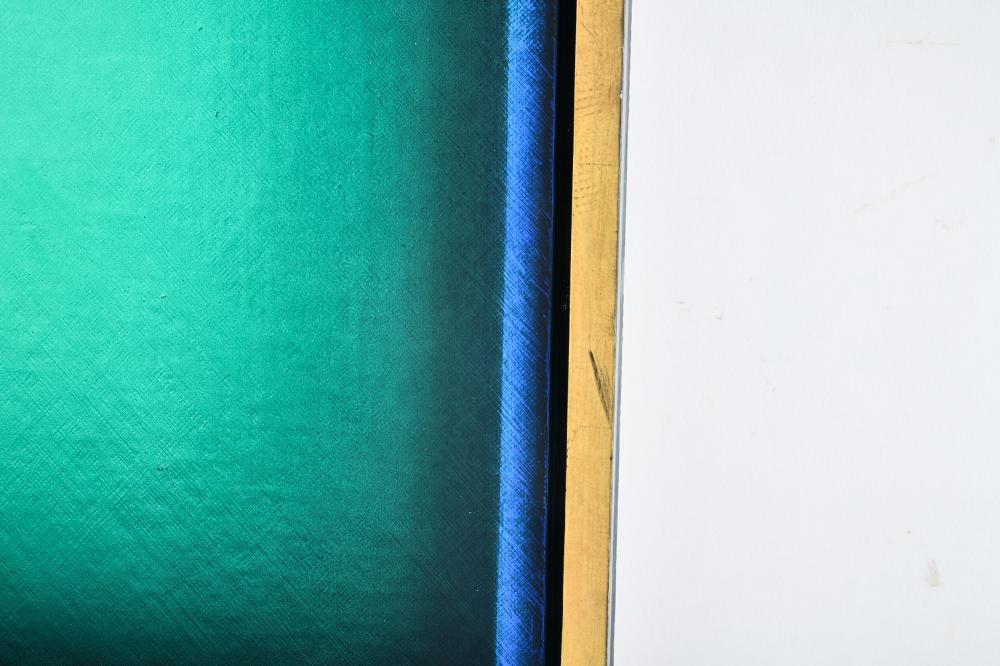 "ERIC ORR (1939 - 1998): ""GREEN TIME LINE"""