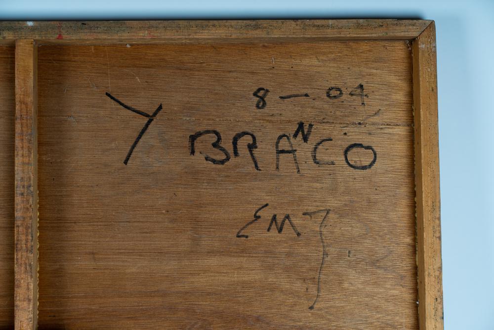 """ED MOSES (1926 - 1918): """"Y BRANCO"""""""
