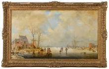 Large Reginald Ernest Arnold Oil Painting
