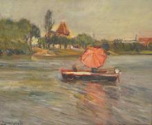Ignacio Garcia Erguin 'Afternoon Sail' O/C