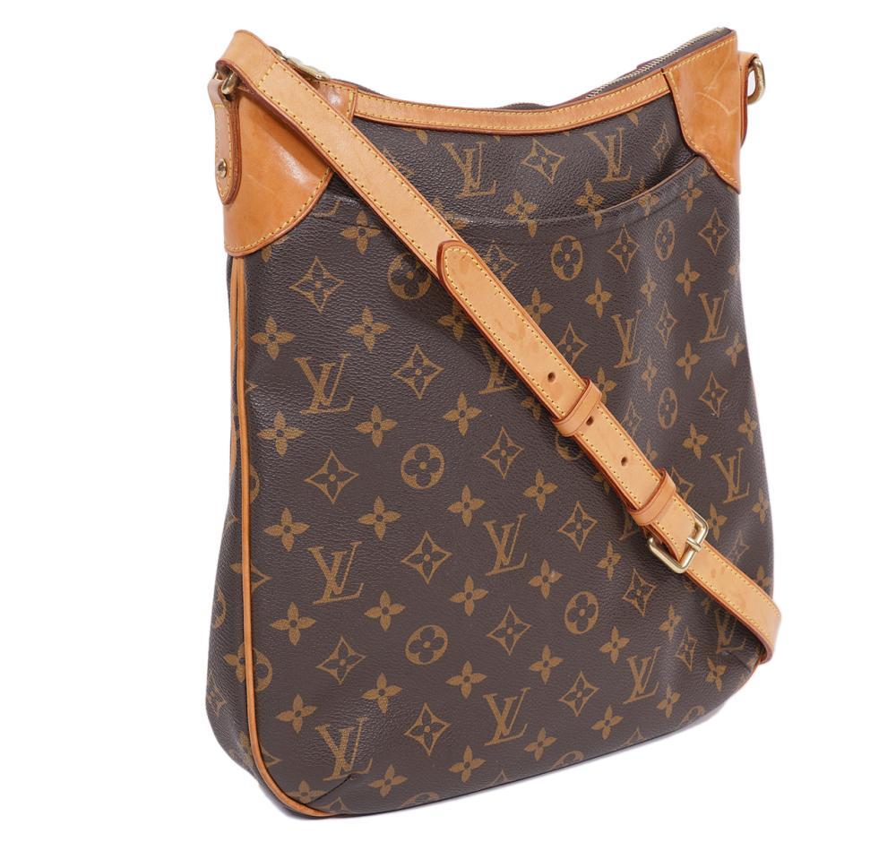 Louis Vuitton Odeon Monogram Messenger Bag 2008
