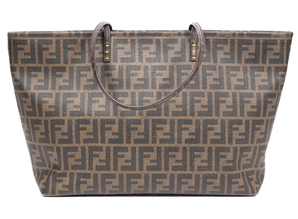 Fendi Zucca Spalmati Roll Tote Bag Limited Edition