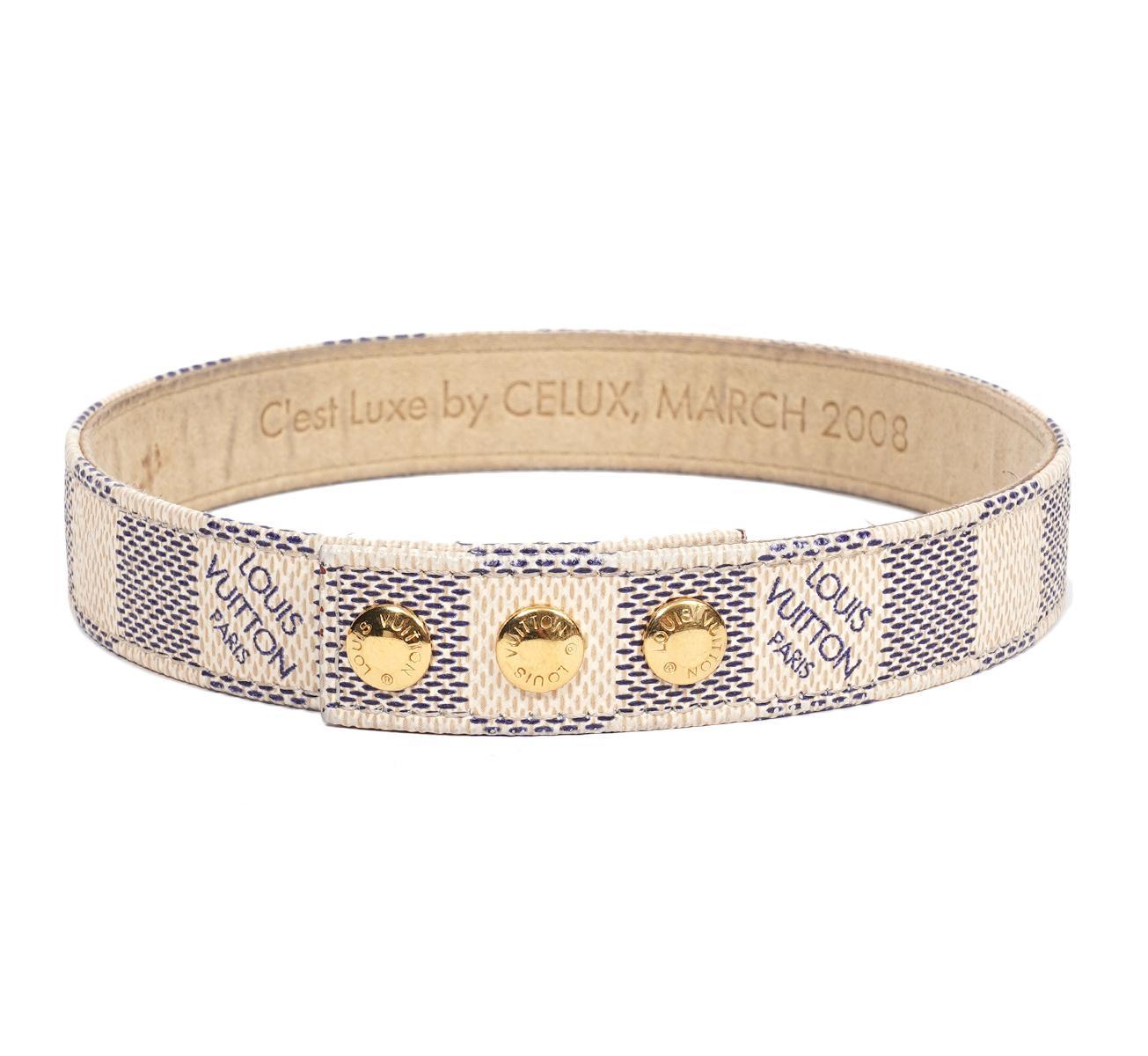 Louis Vuitton Damier Bracelet C'est by Celuxe 2008