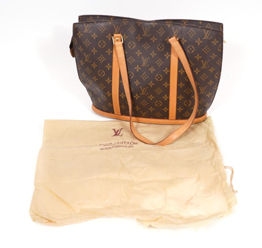 Louis Vuitton Monogram Babylone Tote Shoulder Bag