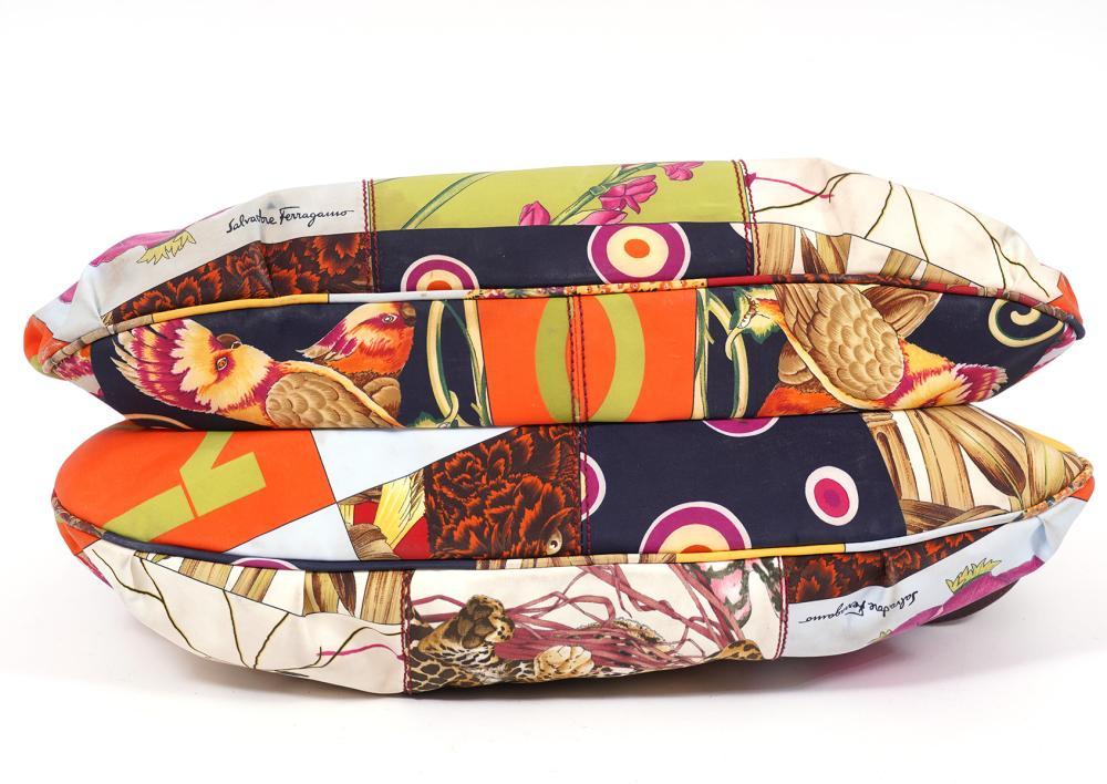 Ferragamo Animal Print Tote Shoulder Bag
