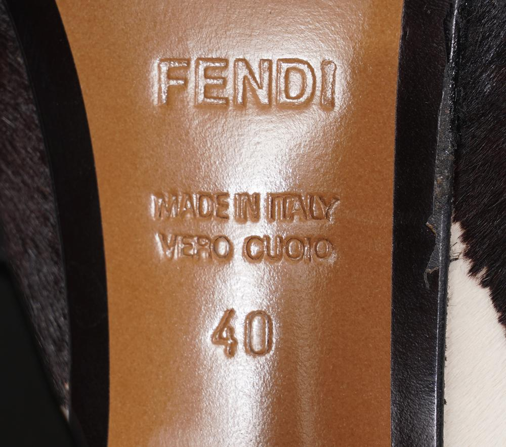 Fendi Pony Hair Pumps Size 40
