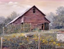 "Marion Bryant Cook ""Rustic Barn"" O/C"