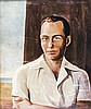 BRUNO CROATTO - Male portrait, 1941, Bruno Croatto, Click for value