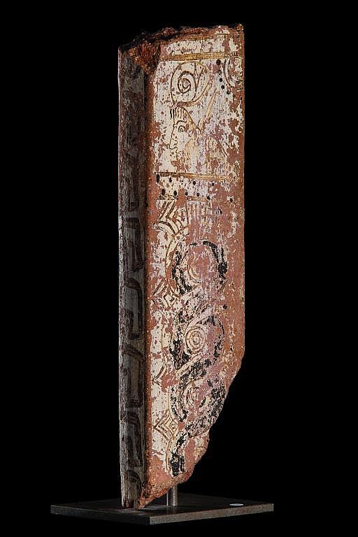 Part of sarcophagus attributed to the Albertinum GroupAnatolia, Clazomenae, ca. 550 - 450 BC