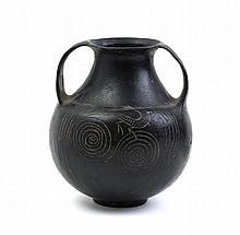 Anforetta in buccheroEtruria meridionale, fine del VII secolo a.C.