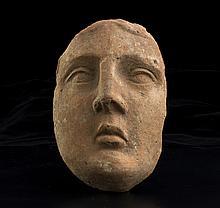 Maschera votivaItalia centrale, III secolo a.C.