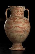 Grande anfora etrusco-corinziaCerveteri (Etruria), fine del VII secolo a.C. - inizio del VI secolo a.C.