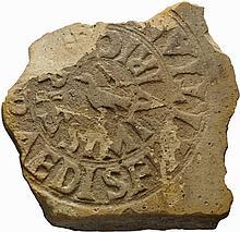 Bollo laterizio di epoca romanaPrima metà del II secolo d.C.