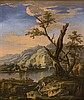 SALVATOR ROSA (Follower of ) - Landscape with a treeLast quarter of the seventeenth century - early eighteenth century, Salvator Rosa, €2,600