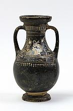 Pelike nello stile di GnathiaApulia, metà del IV secolo a.C.