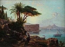 Pittore nord europero del XIX secolo Veduta del