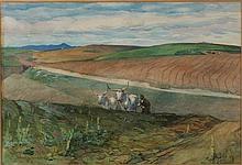 Giuseppe Carosi Roma 1883 - 1965 Osteria del