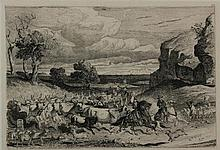 Charles Coleman Pontefract 1807 - Roma 1874 Cattle