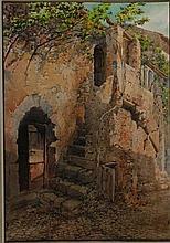 Cesare Formilli Roma 1860 - ? Vecchie case a