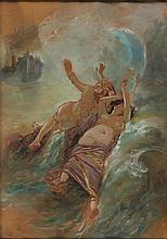 Edoardo Dalbono Napoli 1841 - 1915 Studio per il