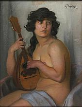 Giulio Bargellini Firenze 1869 - Roma 1936 Ragazza