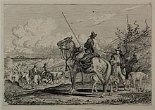 Charles Coleman Pontefract 1807 - Roma 1874 Wild