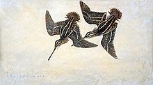 PAUL MARCUEYZ - Two woodcocks, 1932