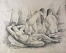 UBALDO OPPI - Female nudes, 1931-32