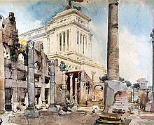 ALDO RAIMONDI - The Forum of Caesar, 1935