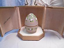 Faberge St. Petersburg Collection Spring Egg w/original box