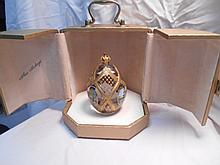 Faberge St. Petersburg Collection Four Season Egg w/original box