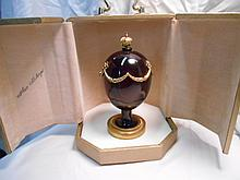 Faberge St. Petersburg Collection Swag Egg w/original box