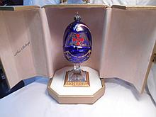 Faberge St. Petersburg Collection Columbus Egg w/original box