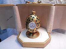 Faberge St. Petersburg Collection Clover Egg w/original box