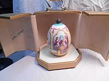 Faberge St. Petersburg Collection Phoenix Egg w/original box
