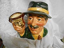 Royal Doulton Toby Mug  The Collector