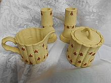 Wedgewood  Tan 5 piece set