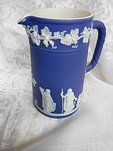 Wedgewood Pitcher Jasperware