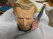 Royal Doulton Toby Mug U S Grant & Robert E. Lee
