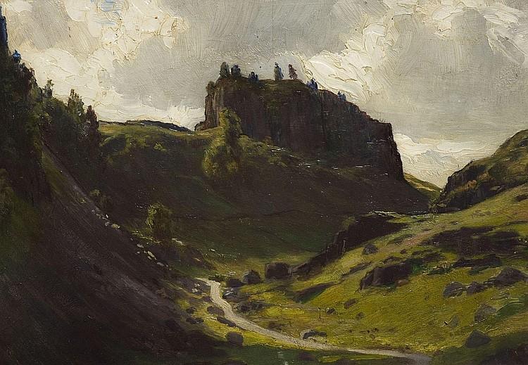 WILLIAM HARTLEY WADDINGTON (1883-1961), THE PASS,