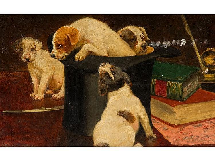 GEORGE DERVILLE ROWLANDSON (1861-1930), FOUR
