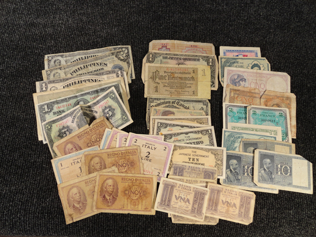 Lot of 39 World Paper Money Notes