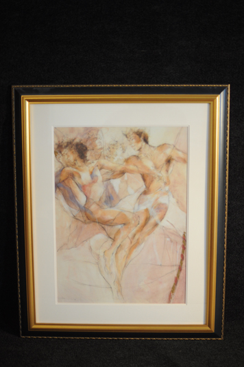 Gary Benfield Dance I SerioLithograph limited edition hand signed and numbered c2000