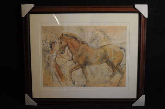 Gary Benfield Debutante SerioLithograph limited edition hand signed and numbered expertly framed