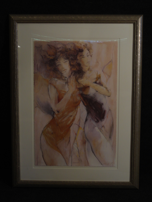 Gary Benfield Dance ii SerioLithograph limited edition hand signed and numbered c2000