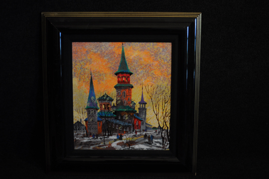 Anatole Krasnyansky Print Lithograph Beautiful signed and numbered