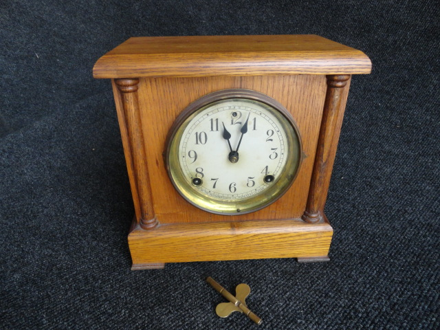 Antique Sessions Mantle Clock Cathedral Chimes