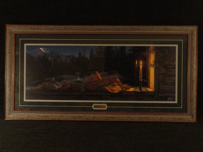 Stephen Lyman -Evening Light- Original Lithograph Hand Signed and Numbered